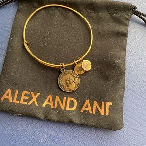 Alex & Ani claddaugh bracelet